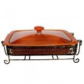 Vitale Standlı Fırın Kabı Cv0014 Güveç Tencere Pişirme Kabı