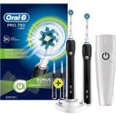 Oral B Pro 790 Şarjlı Diş Fırçası 2&#039 Li Avantaj Paketi