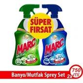 Marc Banyo Sprey 750+750ml Mutfak Sprey