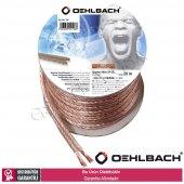 Oehlbach 106 2 X 2,5mm 20mt Oksijensiz Bakır Hoparlör Kablosu