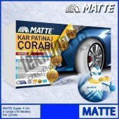 Matte Super X Series Kar 235 75 R16 Patinaj Çorabı Xx Large