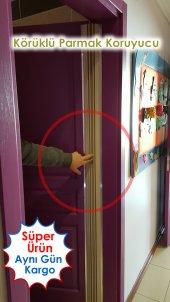 Körüklü Parmak Koruyucu Menteşe Kapı Sistemi