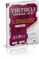 8. Sınıf T.c İnkılap Tarihi Atatürk Tırtıklı Test Çözüm Dvdli