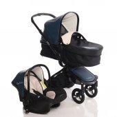 Pierre Cardin Alias Travel Mavi Bebek Arabası