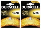 Duracell Ultra Lityum Düğme Pil 1220 (2 Kart 2 Adet)