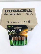 Duracell Şarj Edilebilir Pil 4lü Aa 13000 Mah 10 Paket