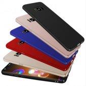 Samsung Galaxy S8 Plus Slim Fit Kılıf Mat Süet Kadife Dokulu Rubb