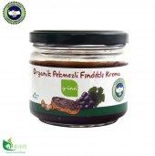 Grünn Organik Üzüm Pekmezli Fındıklı Krema 250 Gr