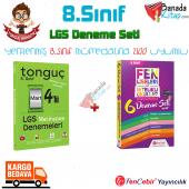 8.sınıf Lgs Deneme Seti Tonguç Akademi + Fencebir Yayınları