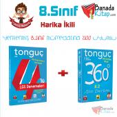 8.sınıf Harika İkili Tonguç Lgs Deneme + 8.2 360 Tonguç Akademi Yayınları
