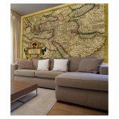 Harita 178x126 Cm Duvar Resmi