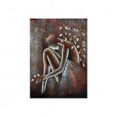 Kadın Kanvas Tablo 50x70 Cm