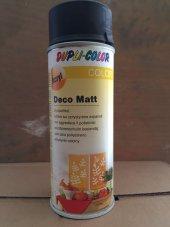 Dupli Color Dekoratif Mat Siyah Deco Matt Sprey Boya 400ml
