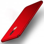 Huawei P9 Mat Slim Fit Süet Kadife Doku Rubber Soft Silikon Kıl
