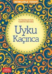 Yetişkinler İçin Yaratıcı Boyama Uyku Kaçınca Renklerle Terapi Libros Yayınları