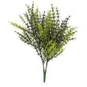 Loveq Yeşil Yapay Saz (Dış Mekan) 38 Cm