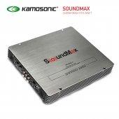 Soundmax Sx 4600 2600w 4 Kanallı Köprülenebilir Oto Ses Anfisi