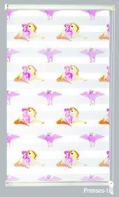 Mrs.pillow Prenses 1 Desenli Zebra Perde 60x200 Ebadında