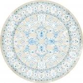 Brillant Latex Halı Sarmaşık Yuvarlak 150x150 Hld11309.801 (Püsküllü)