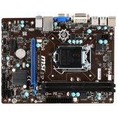 Msı H81m P33 Intel H81 1600mhz Ddr3 Lga1150 Matx Anakart