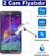 2 Adet Samsung Galaxy S5 Kırılmaz Cam Ekran Koruyucu