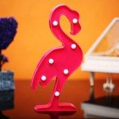 Flamingo Tasarımlı Ledli Gece Lambası