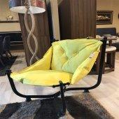 Pufumo Armut Bahçe Sandalyesi Sarı
