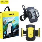 Awei X14 Bisiklet Motosiklet Gidon Telefon Tutucu