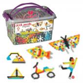 Dede Toys Çiçek Puzzle Box 500 Parça Kovalı Set