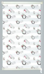 Mrs.pillow Kgz 1046 Desenli Zebra Perde 60x200 Ebadında