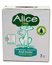 Alice Clinic Antibakteriyel Topaklaşan Çam Kokulu Kedi Kumu 7 Lt