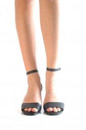 Bayan Günlük Topuklu Ayakkabı 100 Siyah Mat