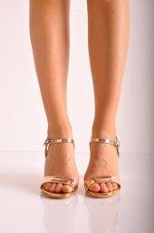 Bayan Günlük Topuklu Ayakkabı 73 Gold Ayna