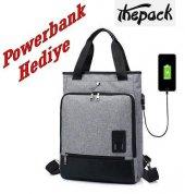 The Pack Tp0106 Sentinus Usb Bayan Laptop Çantası