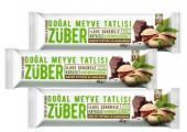 Züber Antep Fıstıklı Ve Çikolatalı Doğal Meyve Tatlısı 3 X40 Gr