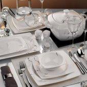 Kütahya Porselen Aliza 83 Parça Yemek Takımı Th 25114