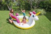 Intex 57441 Tek Boynuzlu Pony Unicorn Yüzen Ada (272 Cm)