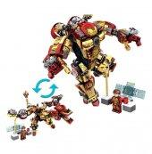 Mk42 Yenilmezler Ultron Lego Seti İkisi Bir Arada Ironman Dev Boy