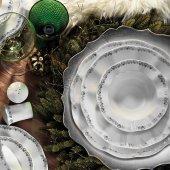 Kütahya Porselen Nil 83 Parça Yemek Takımı Bant Dekor 7820