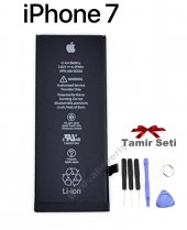 Apple İphone 7 Orjinal Batarya Pil + 6lı Tamir Seti