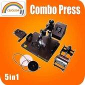 Cescesor Combo Çok Fonksiyonlu Transfer Baskı Pres Makinası