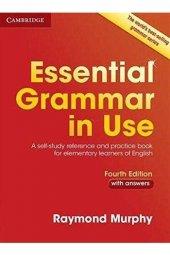 Cambridge Essential Grammar İn Use With Answers Kırmızı