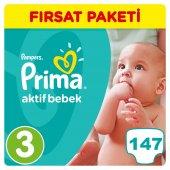 Prima Bebek Bezi No 3 Beden (5 9 Kg) 147 Adet Fırsat Paketi