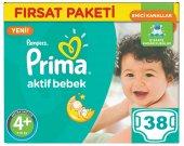 Prima Bebek Bezi No 4+ Beden (9 16 Kg) 38 Adet Fırsat Paketi