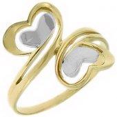 Goldstore 14 Ayar Altın Kalp Yüzük Grp9795