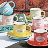 Nescafe Fincan Takımı 6 Renk