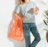 Katlanabilir Renkli Tasarım Pazar Çantası Alışveriş Torbası