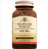Solgar No Flush Niacin 500 Mg 50 Vegetable Kapsul