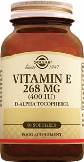 Solgar Vitamin E 268 Mg 400 Iu 50 Softgel