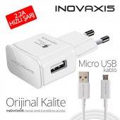 Orijinal Kalite Inovaxıs Micro Usb Şarj Cihazı+kablo Hızlı Şarj